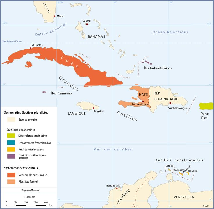 Carte Antilles Néerlandaises