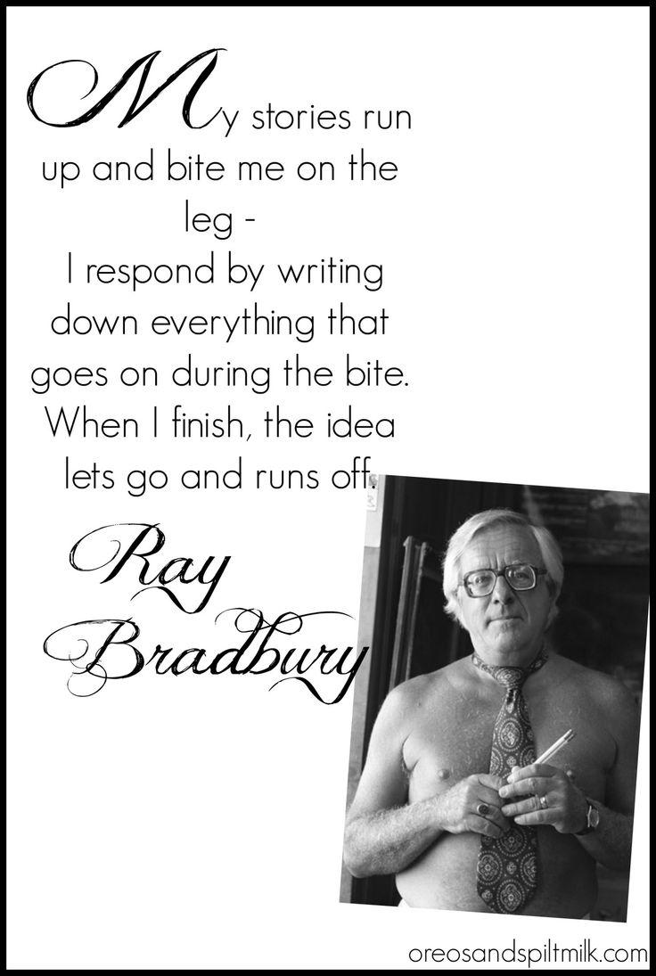RayBradbury - Quotes- Writing
