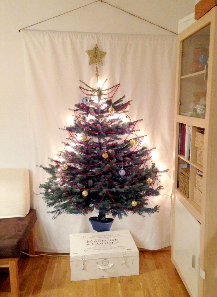 handcraftmarie diy stoff weihnachtsbaum ikea vinter. Black Bedroom Furniture Sets. Home Design Ideas