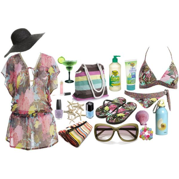 dreaming of summer, created by mzlorraine.polyvore.com