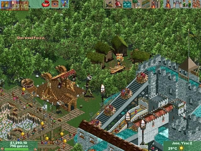 roller coaster tycoon - Google Search