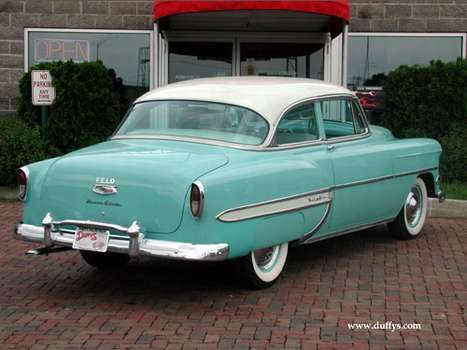 Lovely  Chevy Bel Air Maintenance restoration of old vintage vehicles the material for