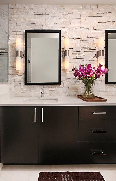 Natural and elegant bathroom design! #Ceilume #Ceilume #Design http://www.ceilume.com/