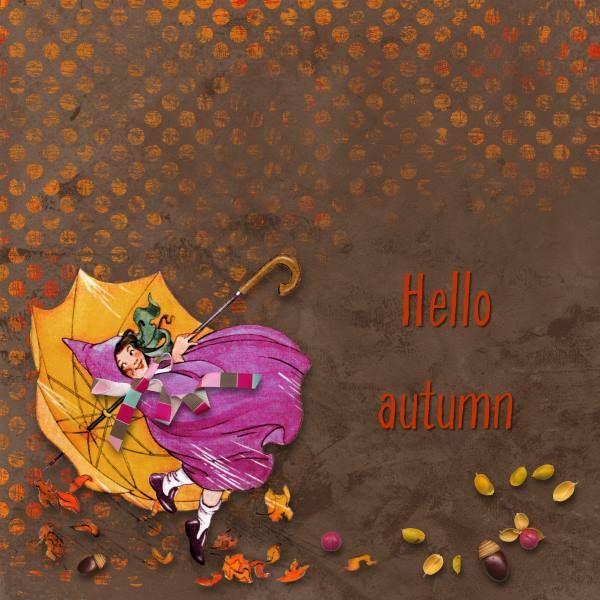 Credits: Autumn Goodies by Paula Kesselring.