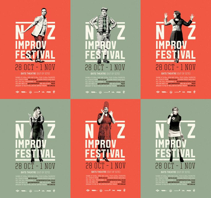The New Zealand Improv Festival gathers improvisational theatre companies from around the nation (and the globe) to present new work, learn new skills and network across the industry.'Improv' is a form of theatre which is completely unrehearsed and crea…