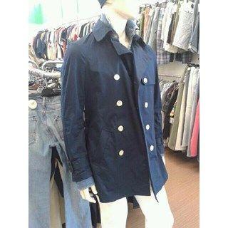 TRENCH DA UOMO H&M BLU LUNGHINO CON BOTTONI BIANCHI | http://www.cesena.mercatinousato.com/abbigliamento-e-accessori/trench-u-hm-blu-48/646072