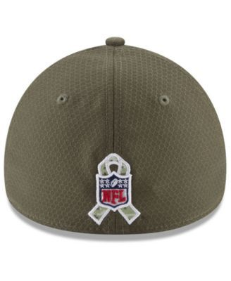New Era Tampa Bay Buccaneers Salute To Service 39THIRTY Cap - Brown L/XL