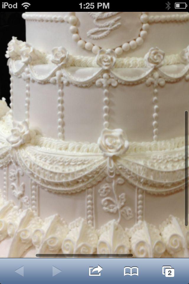 Fake Cake With Royal Icing