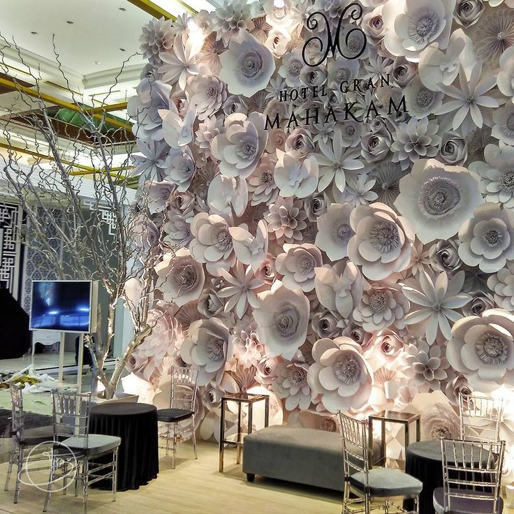 Dear all, please witness our latest magnificent paper flower artwork at Jakarta…