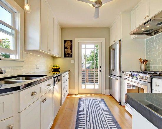 Best 25+ Narrow kitchen island ideas on Pinterest | Small ...