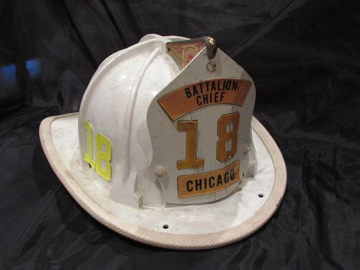Cairns & Brother, Brother 880 Fire Helmet, White, Battalion Chief, Chicago 18
