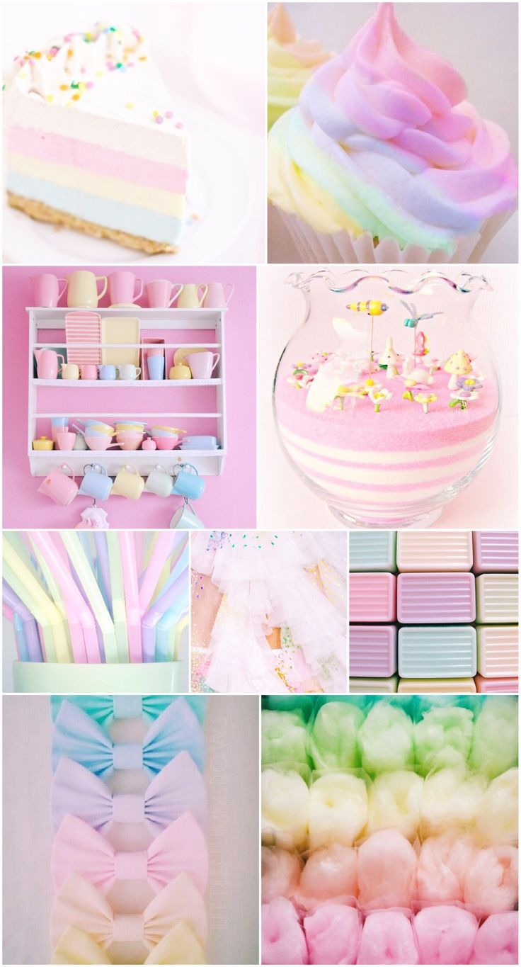 Image result for cute pastel rainbow   Aesthetic pastel ...