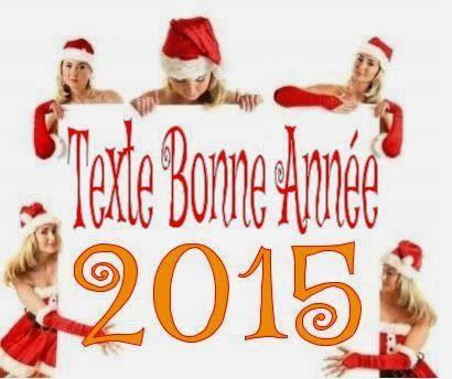Texte pour carte de vœux bonne année 2015