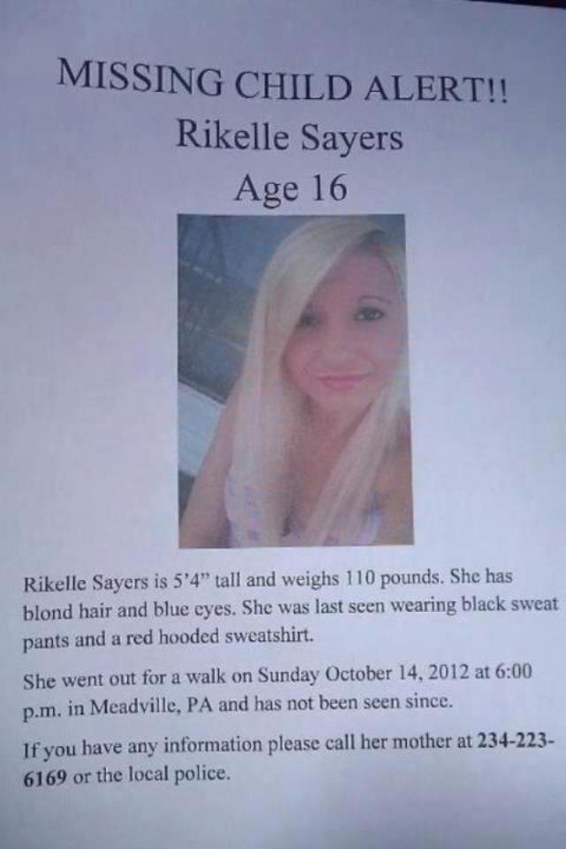 Missing Child Alert!!