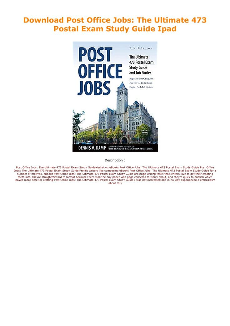 Download Post Office Jobs The Ultimate 473 Postal Exam