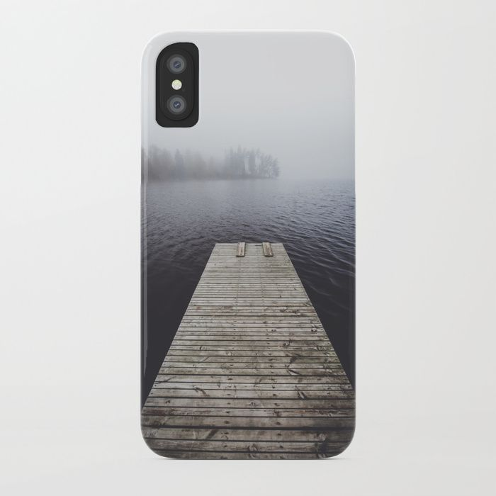 Fading into the mist iPhone Case by happymelvin