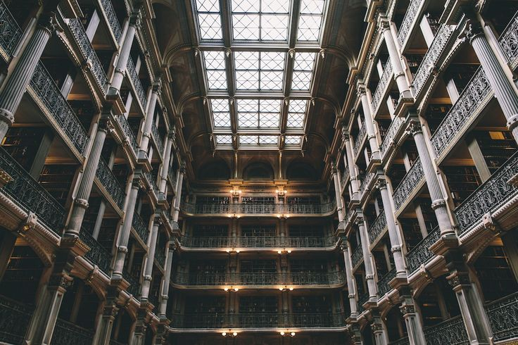 george peabody library. | baltimore, md