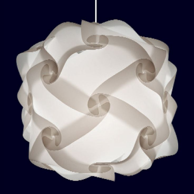 Anleitung Puzzle Lampen - Designerlampen zum Selberbauen