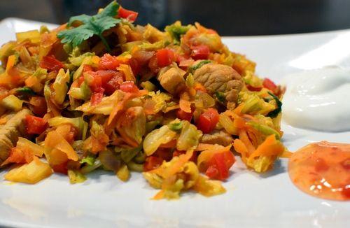 Spicy middag (Bakekona)