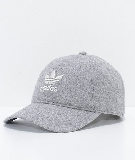 adidas Relaxed Grey Wool Dad Hat in 2019  8697a013c6b