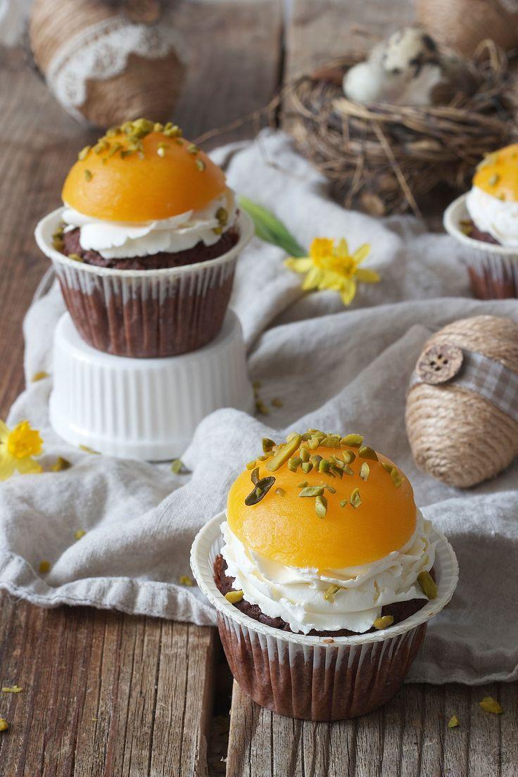 Fried egg cupcakes for Easter or the children's birthday // fried eggs cupcakes …   – Rund um Ostern – Rezepte, Deko und mehr