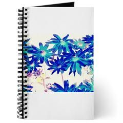 Blue flowers Journal