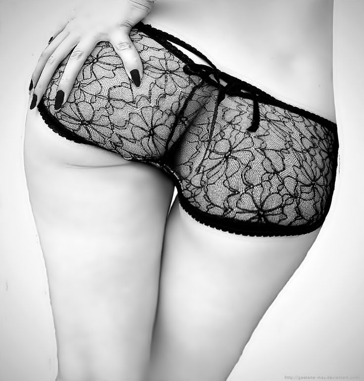 black sexy panties