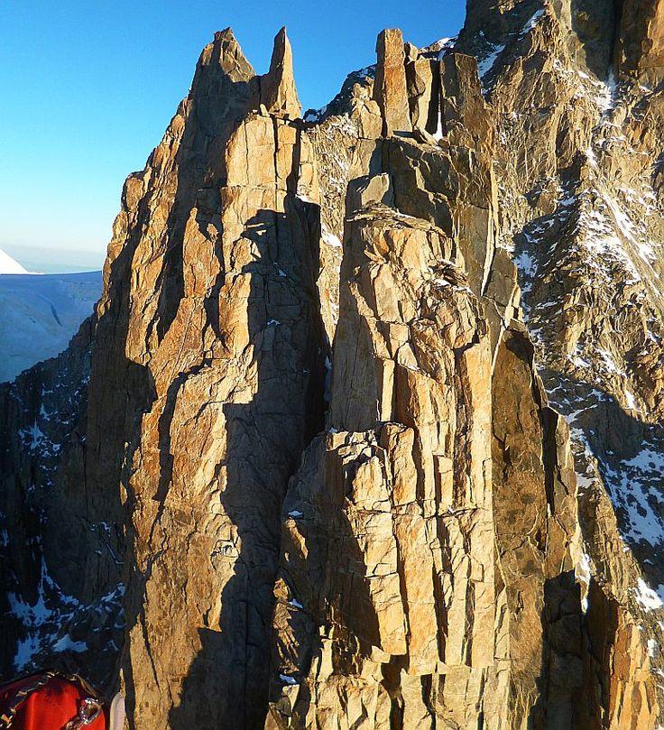 Aiguilles du Diable, Mt.Blanc du Tacul,  Pointes Mediane et Carmen, France
