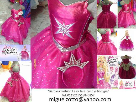Barbie: A Fashion Fairytale Costume - Size 4-6 - Sam s Club 68