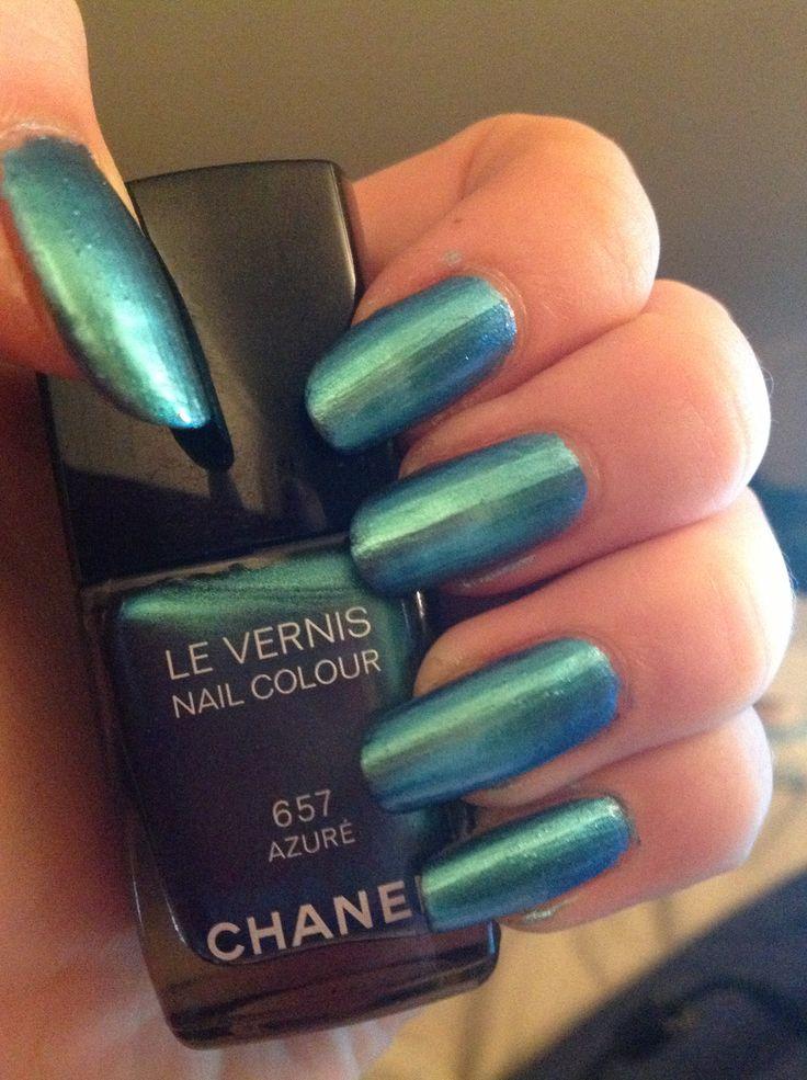 Chanel nails - 657 azuré
