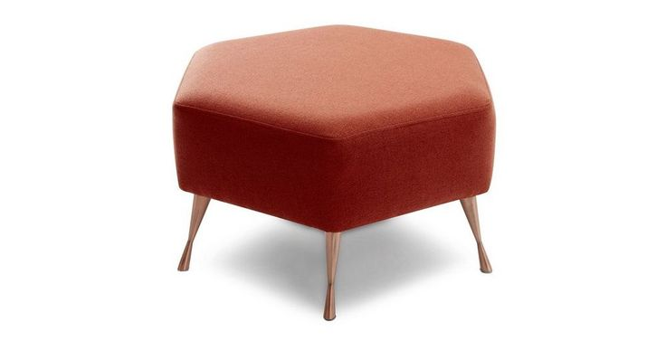 Play Hexagon Footstool  Weave | DFS