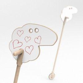 Käpphäst – Mary´s little lamb on a stick
