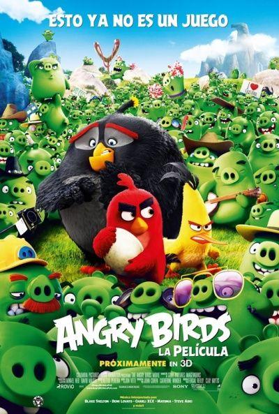 Descargar gratis Angry Birds La película pelicula completa en HD español latino