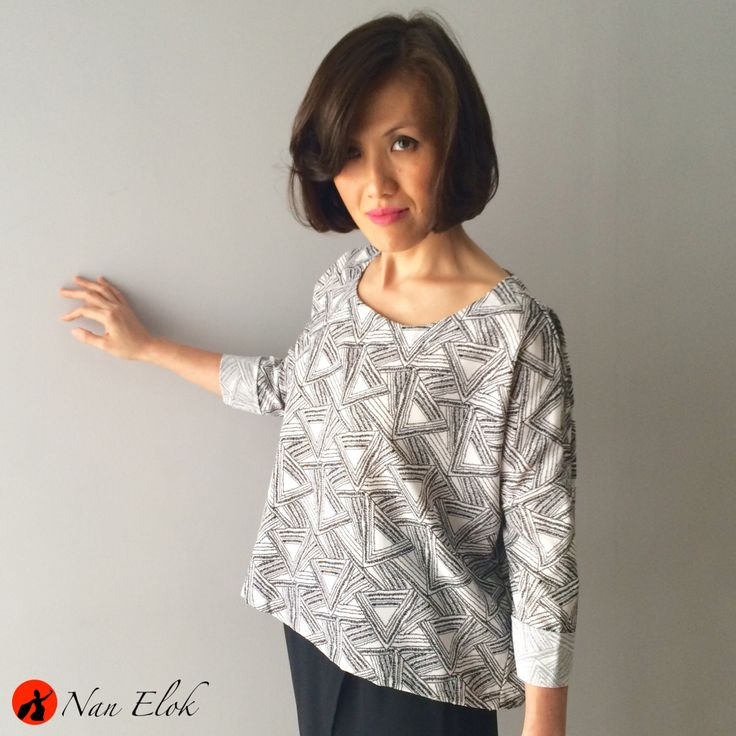 Clover - Graphic Loose Top | IDR199.000 / USD24 | Bust: 140cm, Length: 53cm