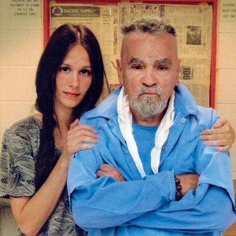 EVIL CHARLES MANSON TO WED CULT HOTTIE