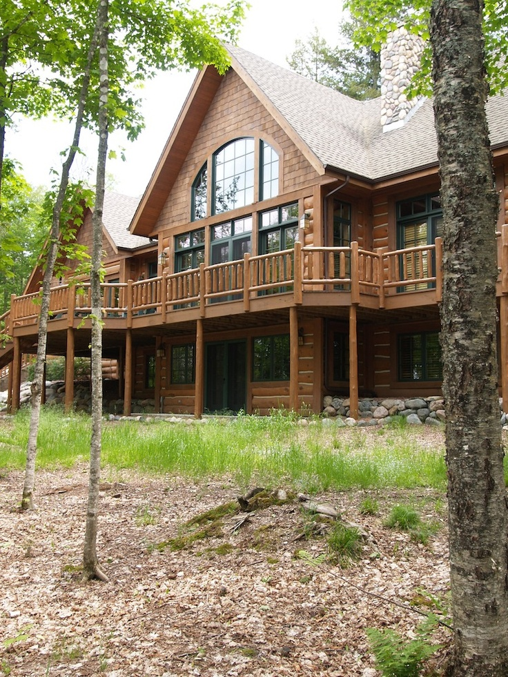26 Best Images About Ntb Hand Scribed Log Lake Home In