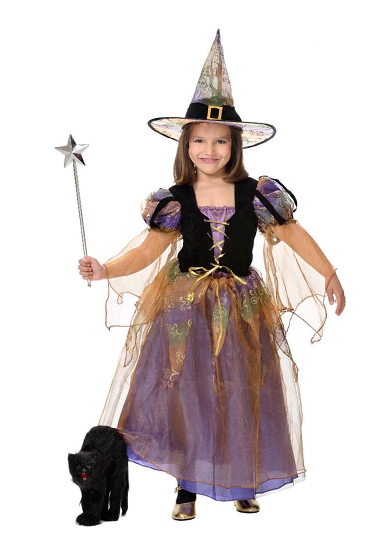 Disfraces de brujas para niñas con luces Disfraces de