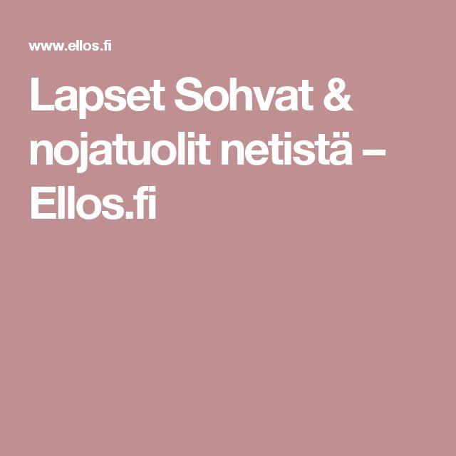 Lapset Sohvat & nojatuolit netistä – Ellos.fi
