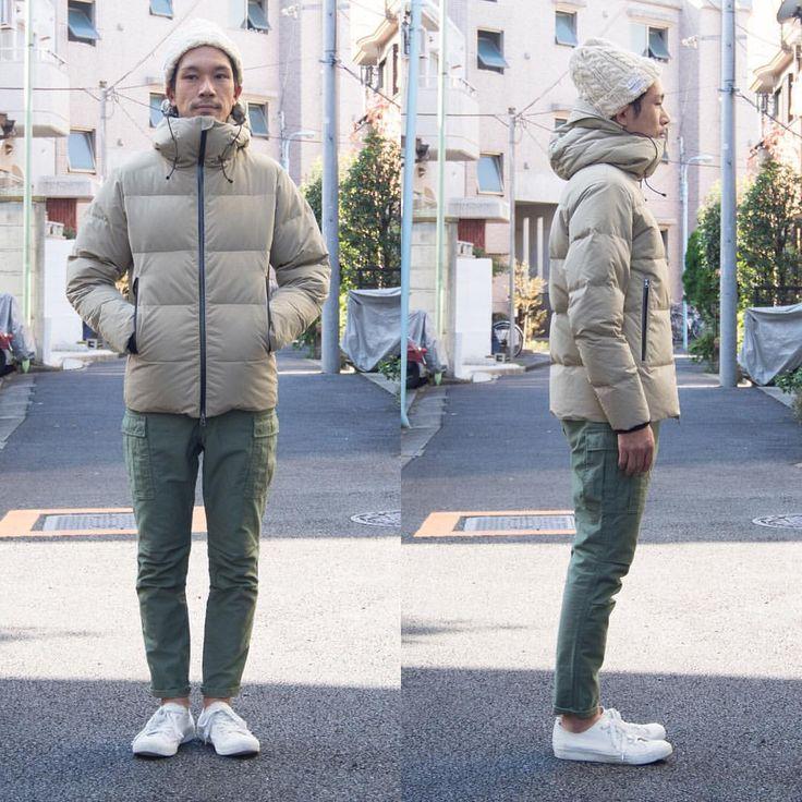 """""""秋冬本番、Outdoorコーデ""""  割繊糸アルピニストフードダウンジャケット http://www.aud-inc.com/product/2128  11月を向かえ、今年もダウンジャケットのセールスが大変好調になってまいりました。確かな防寒性と完成されたシルエットバランスが、 Outdoorスタイルでも抜け感漂うコーデにしてくれます。  素材には、ナイロンが入り込んがポリエステル「割繊糸」を使用し、ふくらみのある風合いと、高密度なナイロン特有のマットな質感が特徴です。ダウン80%/フェザー20%の本格はダウンです。  Coordinate Bottoms:aud3308 http://www.aud-inc.com/product/1939  都内の木々も少しづつ色づき始めてまいりました。 例年では、11月下旬〜12月上旬が紅葉の身頃になるそうです。 気持ち良い秋晴れの本日は、21時迄営業致しておりますので、 皆様のご来店を心よりお待ち致しております。  #audience_shop #audience #オーディエンス #japan #tokyo #kouenji…"""
