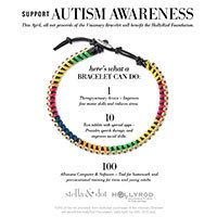 Please help raise Autism awareness!! Purchase this amazing Stella & Dot Visionary Bracelet this April and 100% of the net proceeds of this bracelet will go to the HollyRod Foundation which is supported in Canada!!