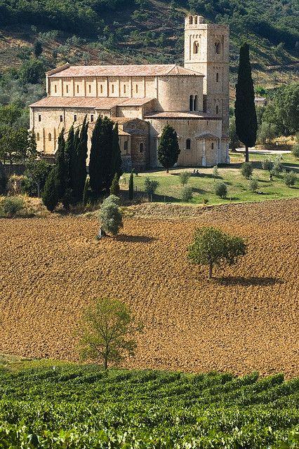 San Antimo, Tuscany, Italy