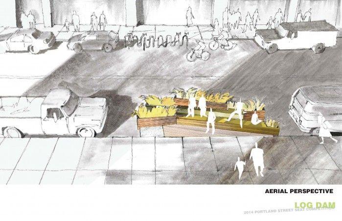Log Dam - Nick Byers, Collin Janke, and Dan Petrescu (Hennebery Eddy Architects)