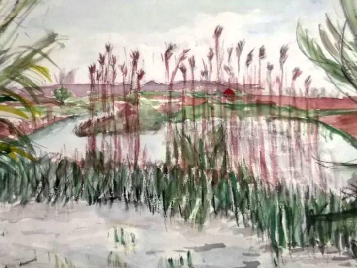 Monica Bruteanu - aquarelle on sale