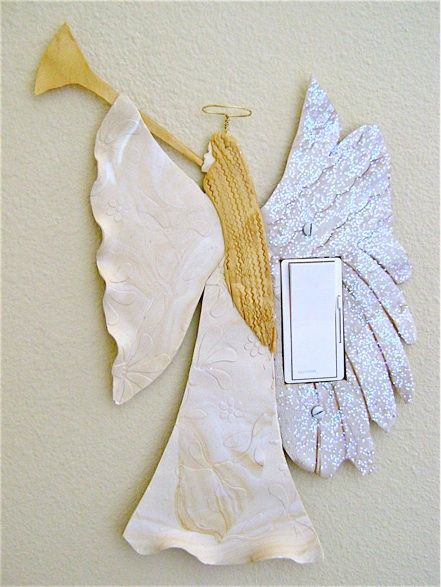 Grab Your Guests Attention As Soon They Walk Into A Room With This Angel Light Switch Decoration Craft Will Fit Snugly Around