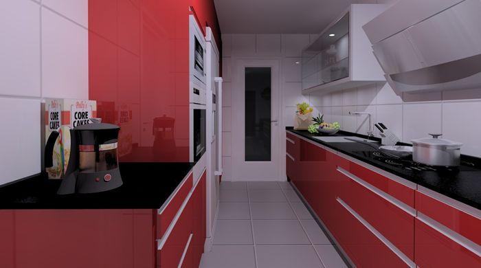 Soluciones para cocinas estrechas y alargadas decoraci n for Cocinas largas y estrechas