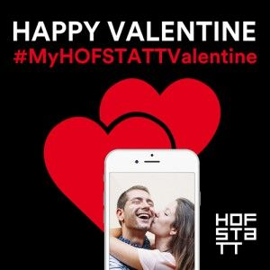 Valentine-Push-Kampagne für HOFSTATT München