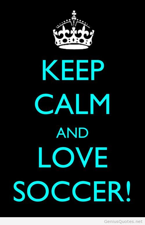 Keep calm and love fifa world cup 2014 soccer
