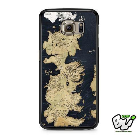 Game Of Thrones Westeros Samsung Galaxy S6 Case