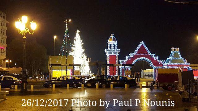 Δημιουργία - Επικοινωνία: Θεσσαλονίκη : Φωτογραφίες από τη Χριστουγεννιάτικη...