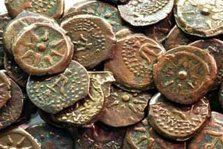 An Australian soldier discovered a handful of coins in the sand. They date back to the 900s to 1300s, and come from the former Kilwa sultanate, on an island off Tanzania. They were the first coins ever produced in the area and  have only twice been found outside Africa. Archaeologists have long suspected there may have been early maritime trading routes that linked East Africa, Arabia, India and the Spice Islands even 1,000 years ago. Or the coins could've washed ashore after a shipwreck.